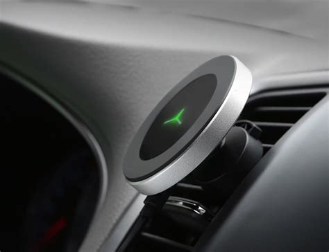 degree car wireless charger gadget flow