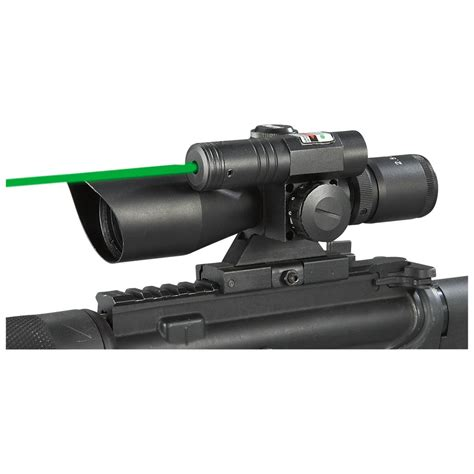 Aim Laser aim sports 174 2 5 10x40 mm laser scope 214377 laser sights at sportsman s guide