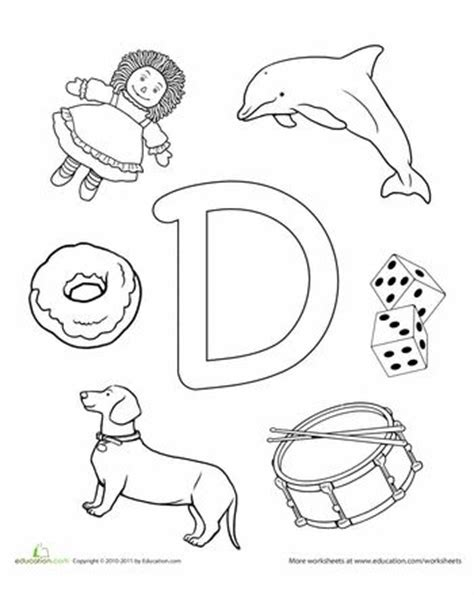 worksheets for preschoolers letter d 107 best letter d crafts images on pinterest preschool
