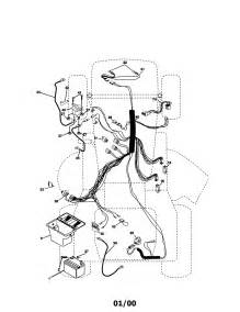 electrical diagram parts list for model 917271060 craftsman parts mower tractor parts