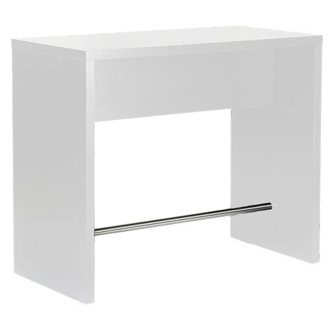 White Breakfast Bar Table with Designa Bar Table White