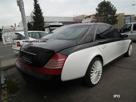 automotive air conditioning repair 2005 maybach 57s lane departure warning 2005 maybach 57 exclusive special paint car photo and specs