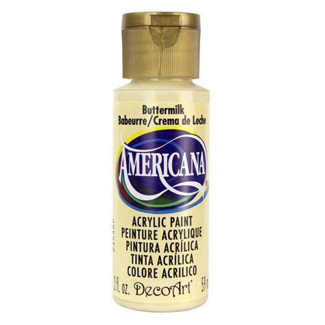 acrylic paint questions decoart americana 2 oz buttermilk acrylic paint dao3 3