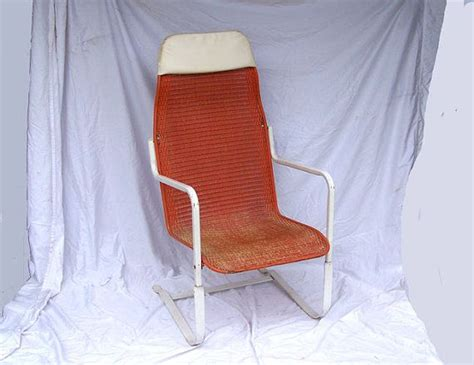 Patio Chairs That Bounce Reserved For Steve Hoffmann Retro Orange Patio Chair