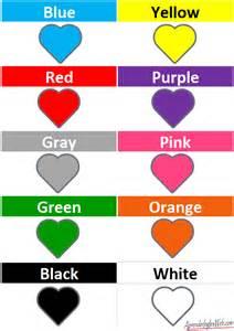 color en ingles colores en ingl 201 s descarga la lista de colores