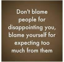 expectations disappointment quotes quotesgram