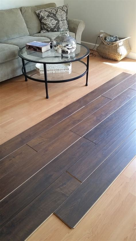 choose light  dark wood floor
