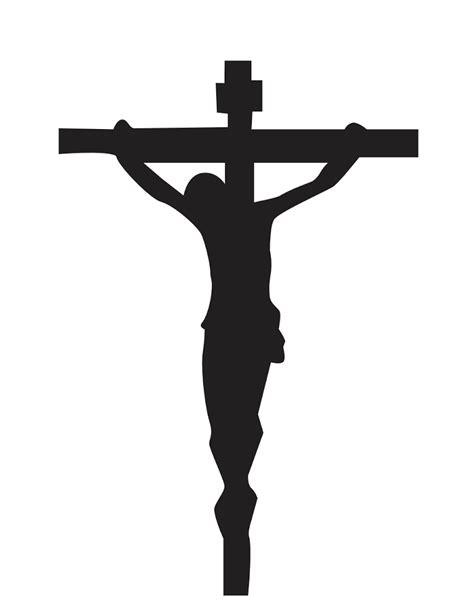 cross silhouette tattoo crucifix silhouette pdf drive ideas