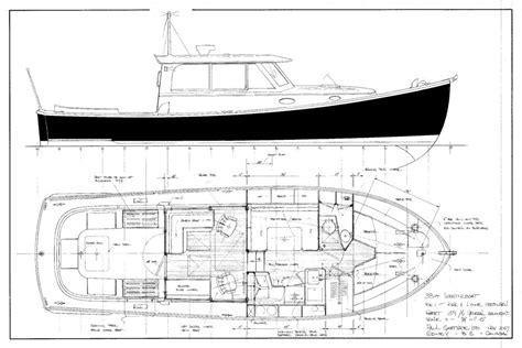 lobster boat designs plans gartside boats 38ft lobsterboat design 159