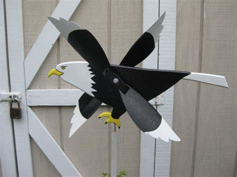 Handmade Whirligigs - bald eagle whirligig whirlybird handmade wood by