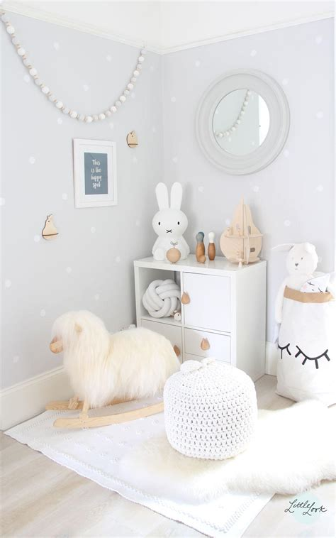 grey scandinavian www little look com grey white playroom kids
