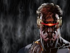 comics marvel comics cyclops ultimate x men wallpaper