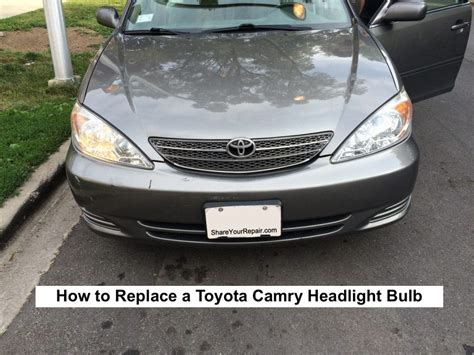 toyota camry low beam bulb 2003 toyota camry headlight bulb replacement 28 images
