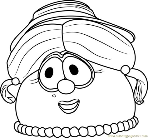 veggie tales coloring pages madame blueberry coloring page free veggietales coloring