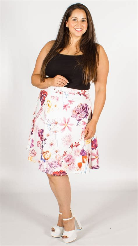 Arabella Blouse By Wearing Klamby arabella white floral skirt curvewow