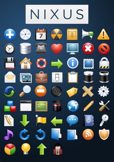 nixus icon pack 60 beautiful premium icons free tutorial9