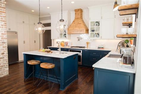 Blue Kitchens by 23 Gorgeous Blue Kitchen Cabinet Ideas