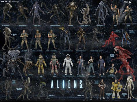 Figure Aliens Neca neca reveals aliens series 10 tribute avpgalaxy