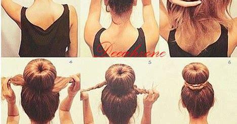 Jepit Rambut Dua Warna Cepol advisor 6 cara praktis membuat rambut cepol
