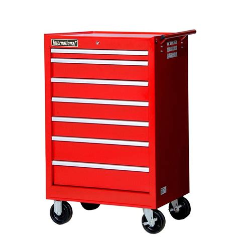 Roller Cabinet 7 Draw Tekiro Tbi3007 husky 52 in 18 drawer tool chest and rolling tool cabinet set black htc5206 hmt5212 the home