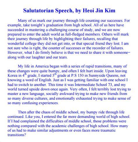 Mba Presentation Topics Pdf by 9 Salutatorian Speech Sles Pdf Sle Templates