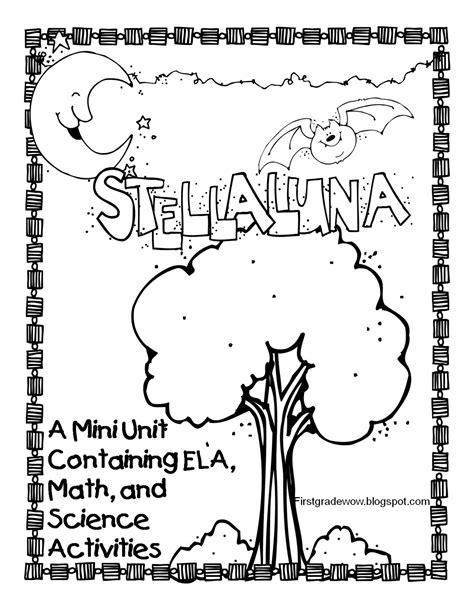 stellaluna coloring page coloring home