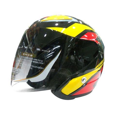 Helm Ss7 daftar harga k7 falcon helm half orange metallic