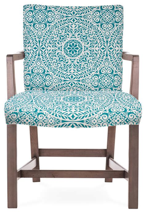 Teal And Grey Accent Chair Robert Arm Chair Gray Finish Pattern Armchairs And Accent Chairs By Dowel Furniture