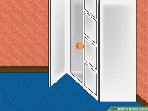 How To Draw A Closet by How To Build A Closet 6 Steps With Pictures Wikihow