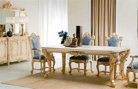 Classic Italian Dining Room Furniture by Classic And Luxurious Italian Dining Room Furniture