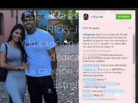 Nicky Jam Y Su Esposa Youtube | nicky jam y su esposa youtube