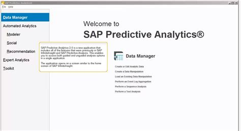 sap predictive analysis what it can and cannot do asug news sap predictive analytics 2 0 est disponible censio