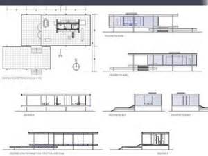Simple Open Floor House Plans farnsworth house