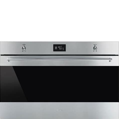 piano cottura smeg 90 cm smeg sf9390x1 forno termoventilato 90 cm inox