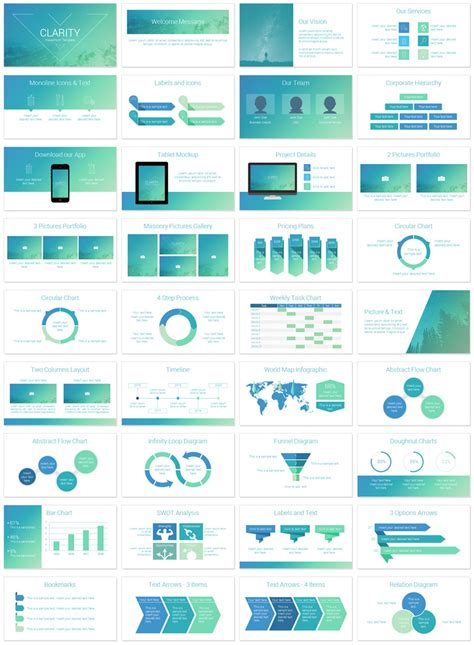 Clarity Powerpoint Template Presentationdeck Com Slide Deck Templates
