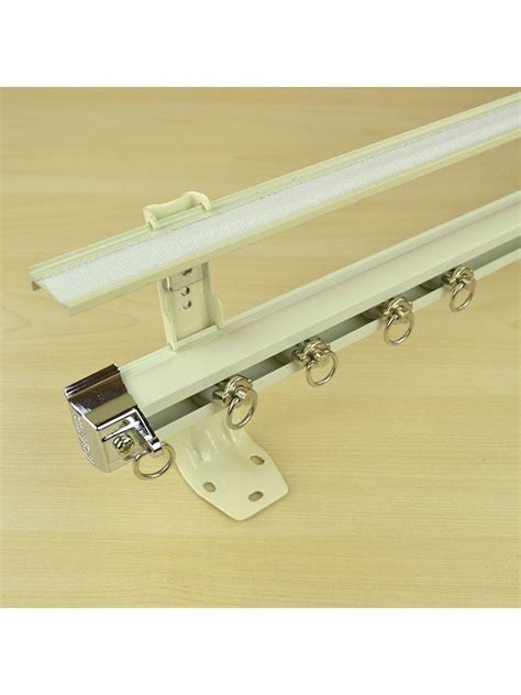 double wall brackets for curtains double curtain track brackets curtain menzilperde net