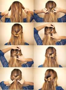 Cute Hairstyle Step By Step by Cute Hairstyles For Step By Step Images
