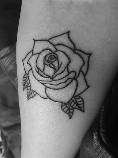 single rose tattoos designs u single pinteresu s on arm side