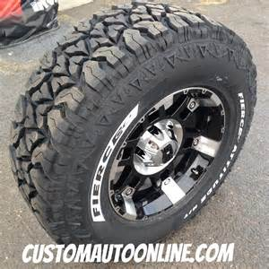 Fierce mud tires custom automotive packages off road packages