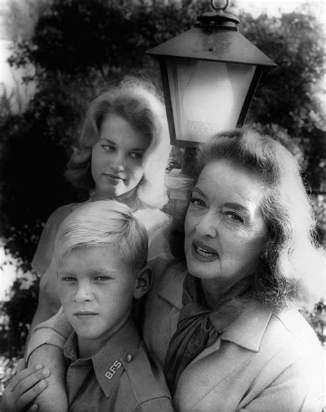 betty davis daughter bette davis with her daughter b d her son that her her husband gary merrill adopted in