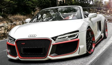 audi r8 modified modified audi r8 2013 v10 spyder http 1modifiedcars