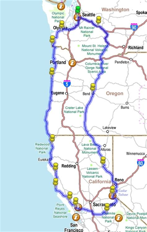 map of oregon house ca the and clark expedition the day before