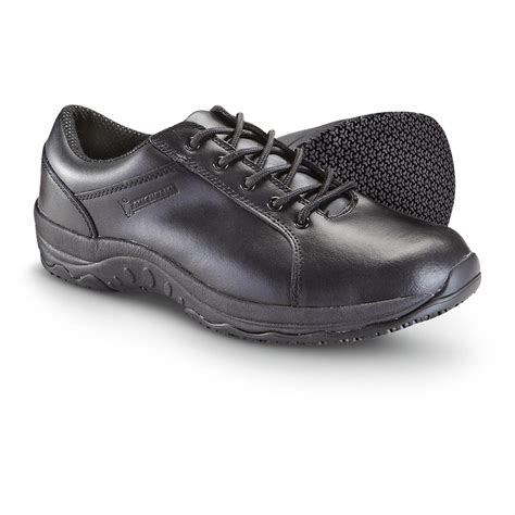 slip resistant mens shoes s michelin 174 slip resistant oxford shoes black