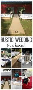 barn wedding ideas on a budget rustic wedding in a barn the country chic cottage