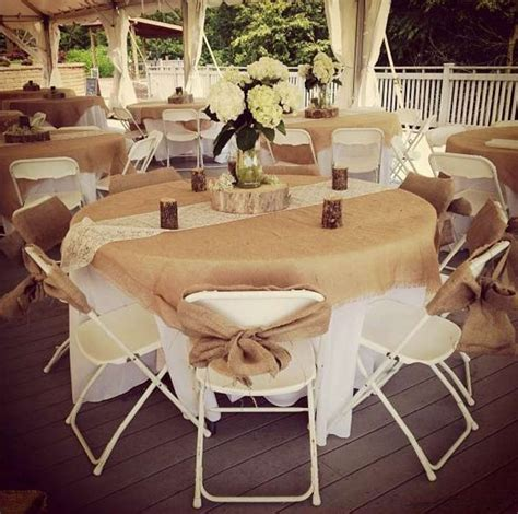 rustic table linens for weddings rustic wedding burlap tablecloths sashes lace runners