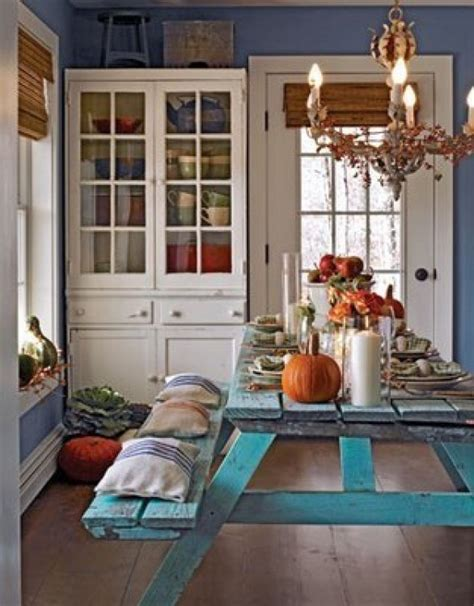 Picnic Table Dining Room Picnic Tables Indoors Home Ideas Pinterest