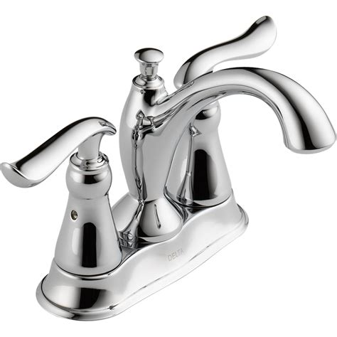 Shop Delta Linden Chrome 2 Handle 4 In Centerset Bathroom Faucets Delta