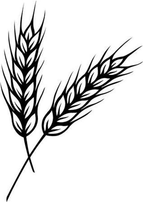 stock illustration wheat