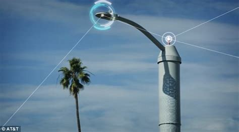 first electric street lights at t to launch smart streetls in san diego daily mail