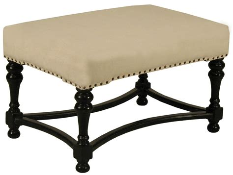 upholstered stool ottoman upholstered black footstool for sale at 1stdibs